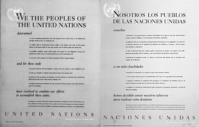 Preamble to the Charter of the United Nations. Dag Hammarskjöld Library / Research Guides / UN Documentation.