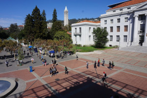 Sproul Plaza, courtesy Alison Moore.