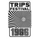 Trips Festival flier, 1966, California social, protest, and counterculture movements ephemera