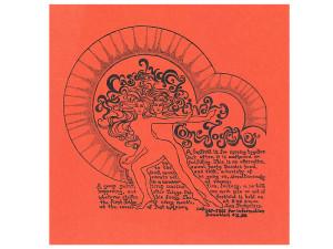 Casaelya Festival flier, California social, protest, and counterculture movements ephemera