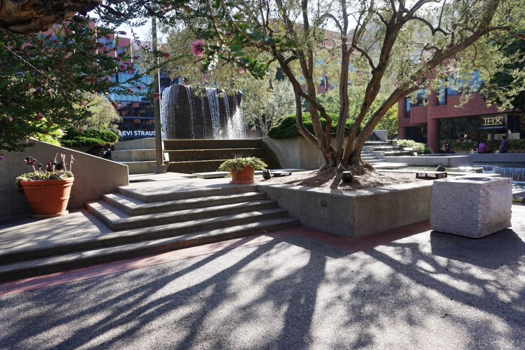 Levi's Plaza Fountain, 2015 Courtesy of Alison Moore