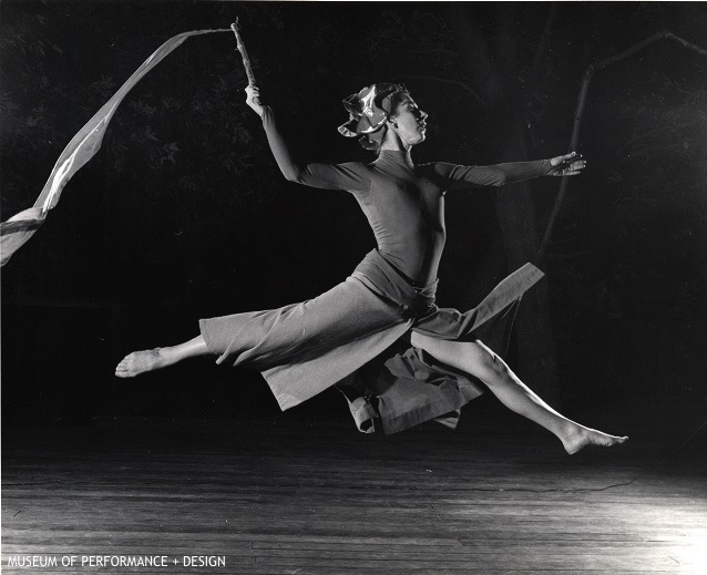 Anna Halprin in Her Work Madrona, c. 1954 Photographer unknown; Anna Halprin Papers, Museum of Performance + Design