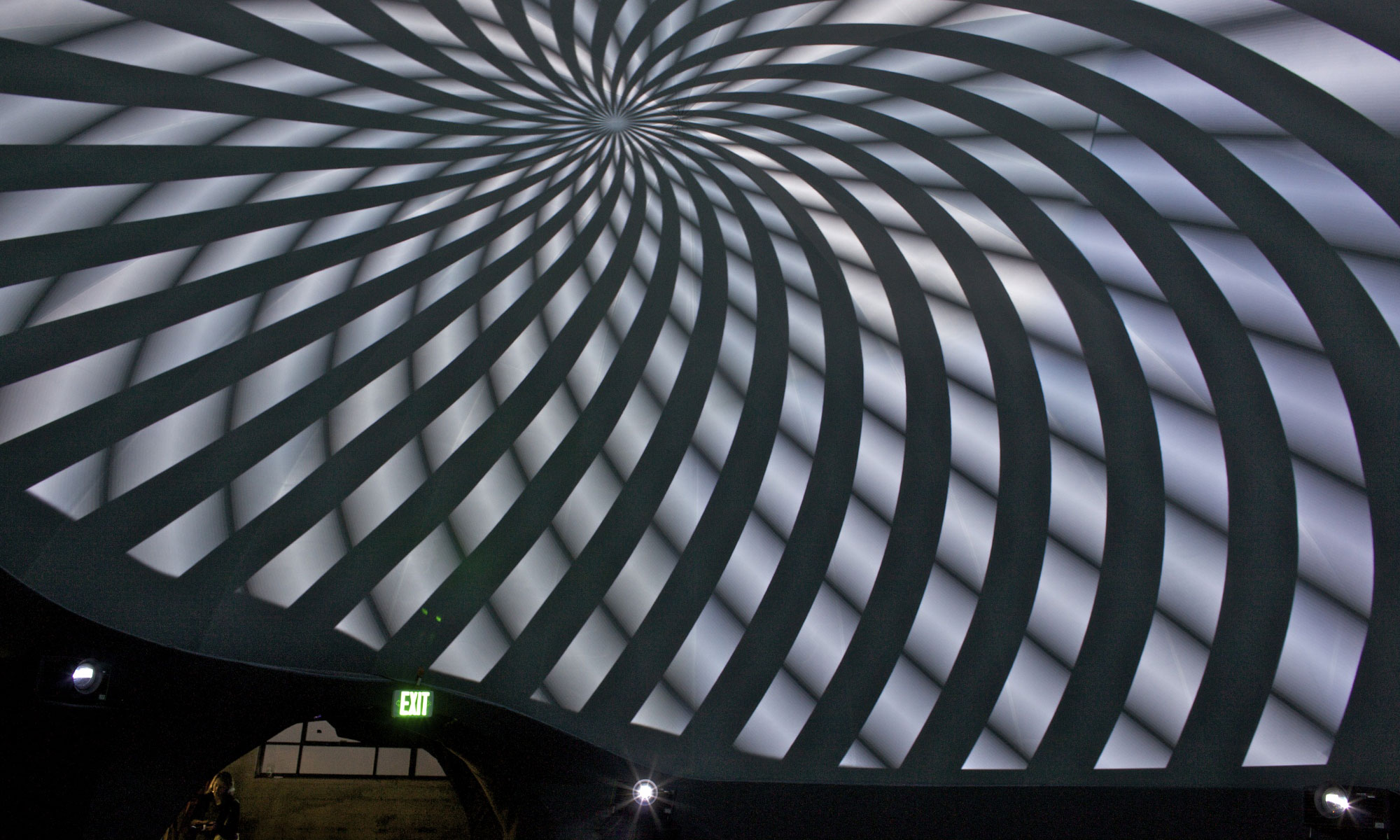 Projections at Obscura Digital
