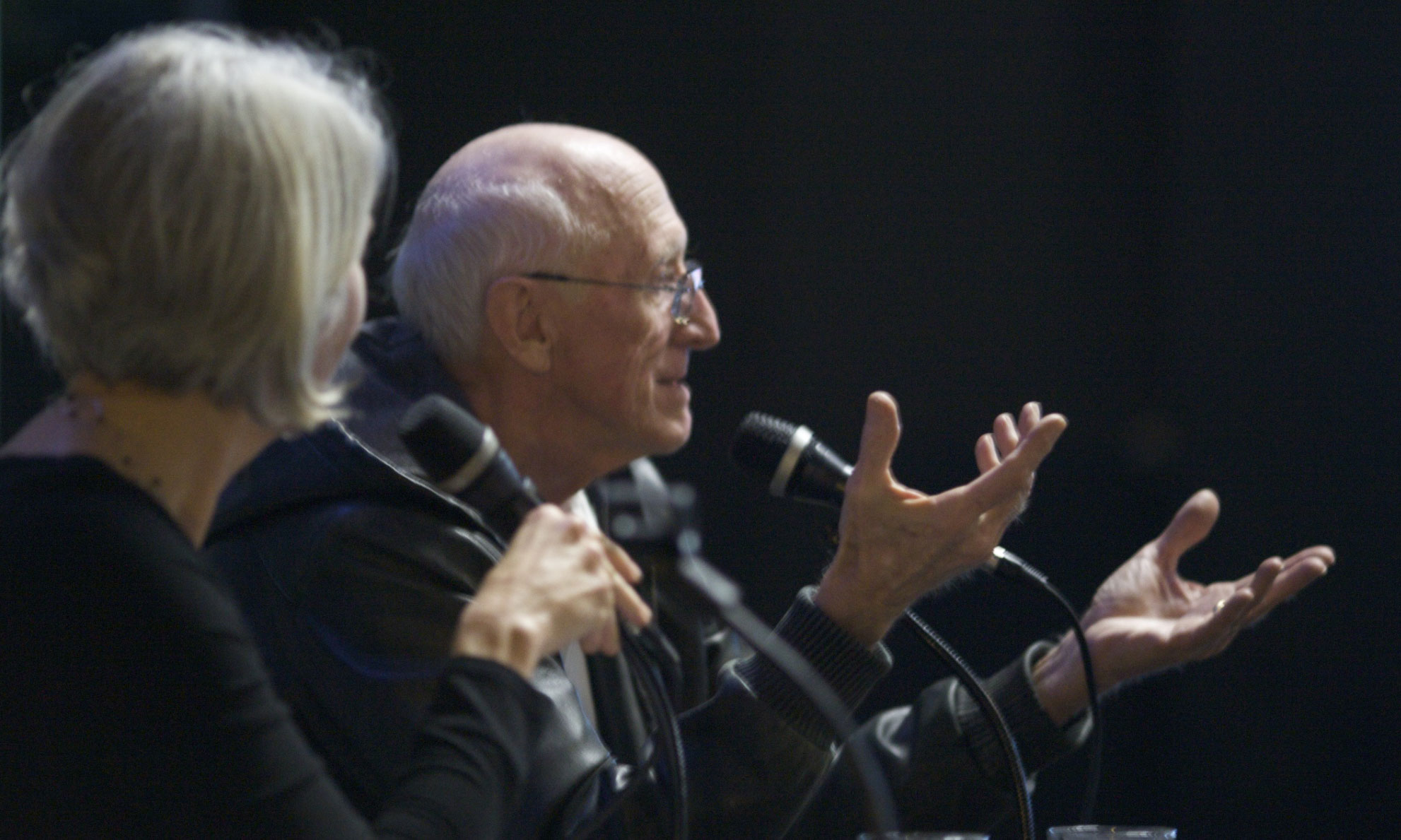 Stewart Brand and Anthea Hartig