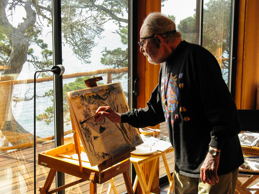 Charles Birnbaum (Photographer), Lawrence Halprin at Sea Ranch, 2008 Courtesy of Charles Birnbaum/The Cultural Landscape Foundation